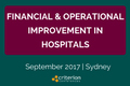 Financial & Operational Improvement in Hospitals Conferences