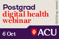Postgrad digital health webinar