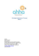 AHHA Pre-Budget Submission to Treasury 2016-17