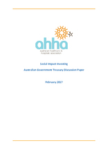 Submission to Australian Government Treasury's Social Impact Investing Discussion Paper