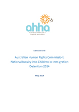 Australian Human Rights Commission: National Inquiry into Children in Immigration Detention 2014