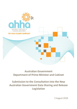 Submission to the New Australian Government Data Sharing and Release Legislation Consultation