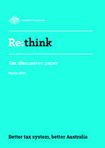 Re-Think Tax Discussion Paper