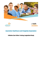 Palliative Care Online Training Longitudinal Study