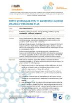 North Queensland Health Workforce Alliance Strategic Workforce Plan