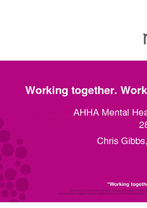 Chris Gibbs - Working together. Working better.