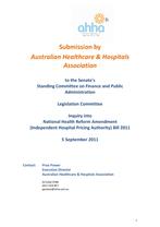 IHPA legislation 2011