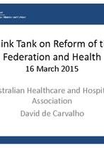 Session 1 – David de Carvalho