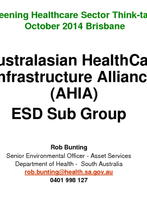 Rob Bunting, AHIA