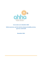 AHHA cross-sector care simulation report