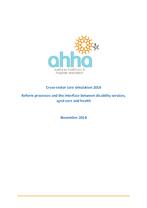 AHHA cross-sector care simulation report