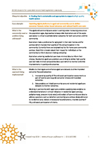 Exploiting digital platforms in aged and community care to deliver consumer-focused, values-based outcomes and reduced costs