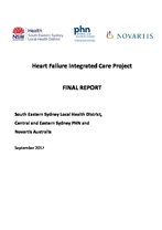 South Eastern Sydney heart failure integrated care project final report