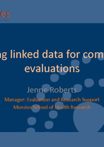 Jenne Roberts - Using linked data for complex evaluations