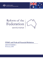COAG and Federal Financial Relations