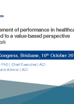 World Hospital Congress Concurrent Session 1.2 — Jean-Frédéric Levesque