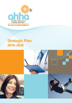 AHHA Strategic Plan 2016 - 2020