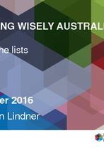 Dr Robyn Lindner - Choosing Wisely in Australia – beyond the lists