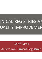 Geoff Sims - Evidence-based Service Development