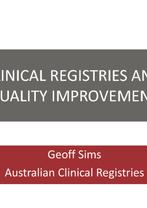 Geoff Sims - Evidence-based Service Development