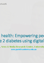 Sora Park - Mobile health: Empowering people with type 2 diabetes using digital tools