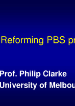 Philip Clarke, University of Melbourne