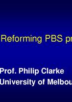 Philip Clarke, University of Melbourne