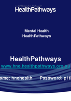 Nadine Street - Mental Health HealthPathways