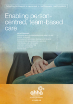 Enabling Person-Centred Team-Based Care