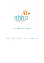 Sustainability, Efficiency and Equity in Healthcare Funding, PHNs as a Disruptive Force for Positive Change and Bundled Payments