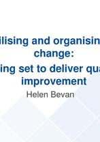 Helen Bevan Presentation