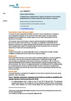Tasmanian heart failure project summary interim report