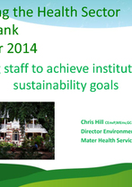 Chris Hill, Mater Health Services
