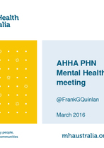 Frank Quinlan - Mental Health Australia