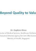 World Hospital Congress Plenary Session 1.1 — Daphne Khoo