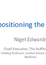 World Hospital Congress Plenary Session 3.1 — Nigel Edwards