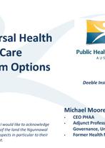 Michael Moore, Public Health Association of Australia