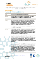 Pharmacy Standards Review