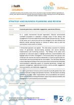 CheckUP strategic service review