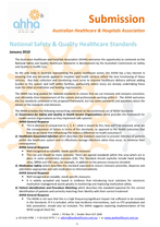 ACSQHC National Safety and Quality Healthcare Standards 2010