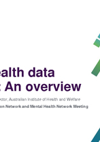 AIHW - Mental health data activities: An overview