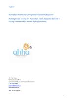 IHPA 2012-13 Pricing Framework