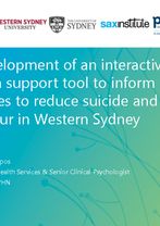 Western Sydney PHN - Co-development of an interactive decision support tool